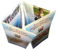 Фонд развития спорта - буклет - офсетная печать буклетов