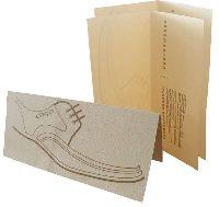 Ergo - буклет - офсетная пантонная печать на дизайнерской бумаге, биговка