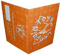 Leopold Toys - буклет - офсетная полноцветная печать бирок на одностороннем картоне