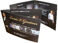 Louis V.Gerstner - офсетная печать буклетов, фальцовка