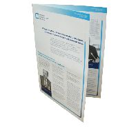 Институт современного развития - офсетная печать буклетов, фальцовка