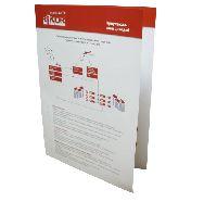 Рикор ТВ - офсетная печать буклетов