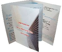 Гипертел - офсетная печать буклетов, фальцовка
