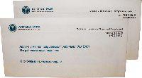 Аптека ИФК - офсетная печать на конвертах Евро-стандарт