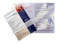 Буклет А4, 4+4, 1 фальц, офсетная печать