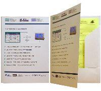 Папка А4 МедКо, офсетная печать, мел. картон, вырубка, корешок 10 мм