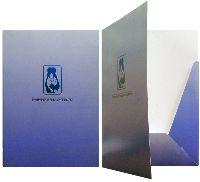 Папка А4 Стоматология, офсетная печать, мел. картон, вырубка